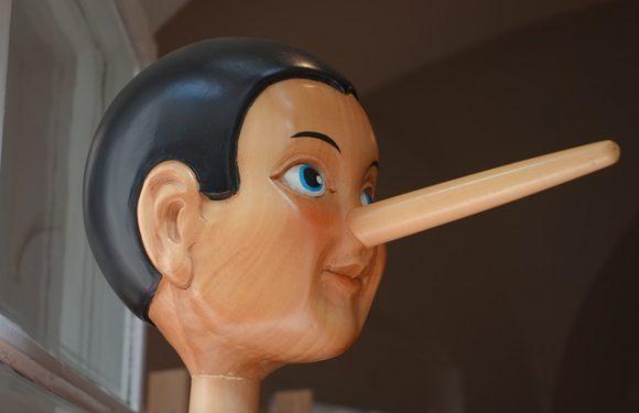 Le bugie hanno le gambe corte… O No?